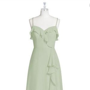 Azazie Dress - Kendra in Dusty Sage (Brand New)